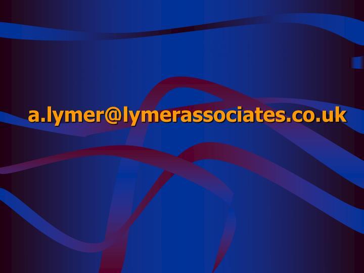 a.lymer@lymerassociates.co.uk