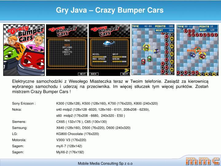 Gry Java – Crazy Bumper Cars