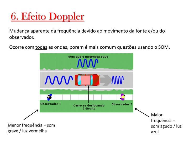6. Efeito Doppler