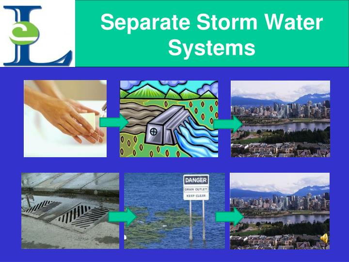 Separate Storm Water Systems