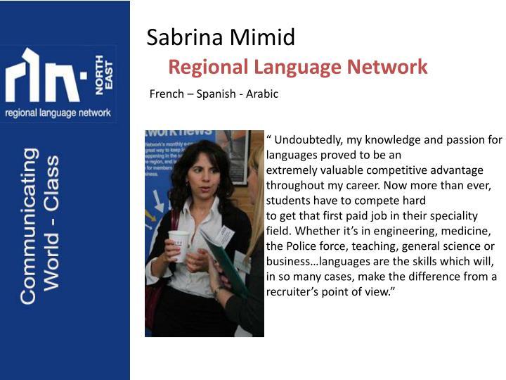 Sabrina Mimid