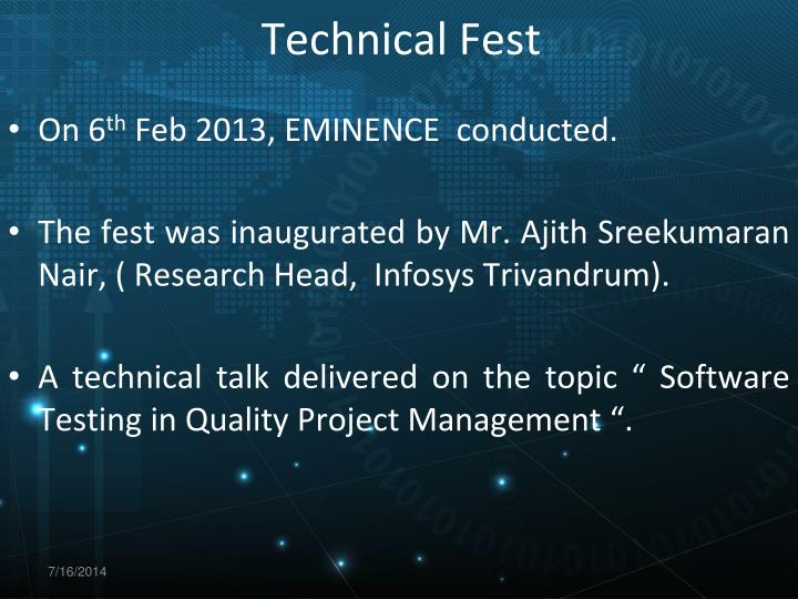 Technical Fest