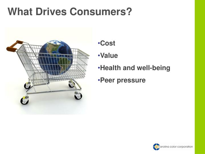 What Drives Consumers?