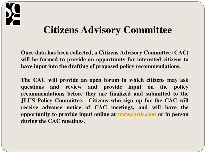 Citizens Advisory Committee