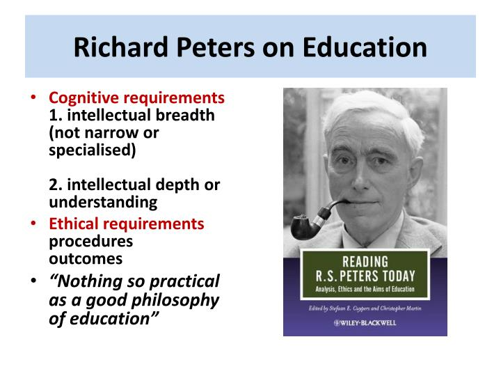 Richard Peters on