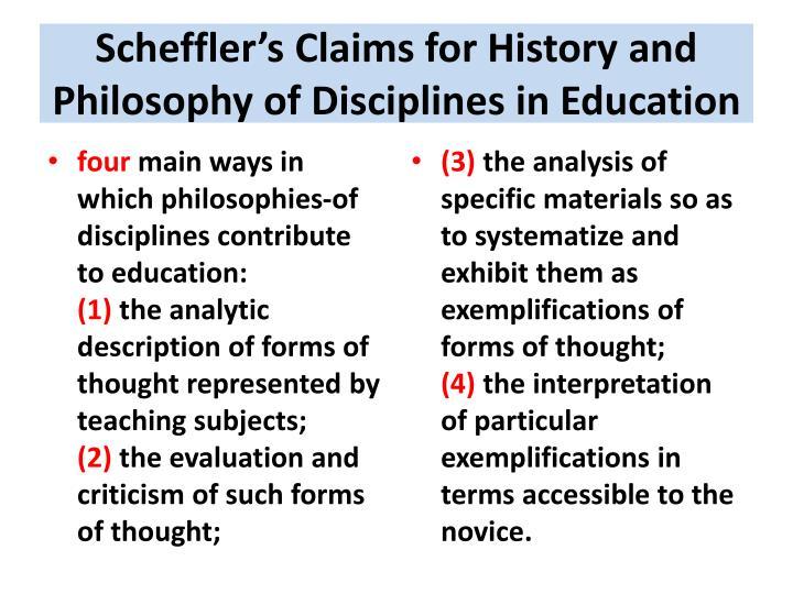 Scheffler's
