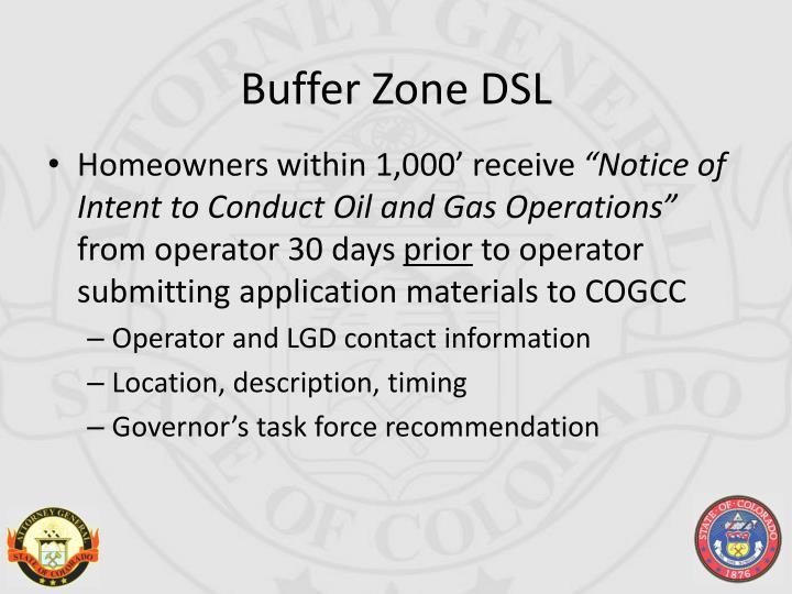 Buffer Zone DSL