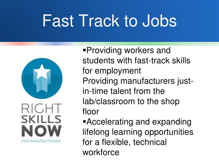 Fast Track to Jobs