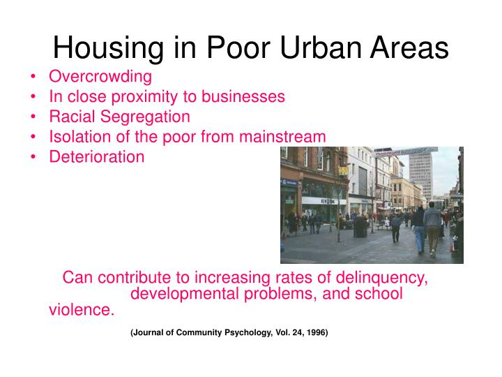 Housing in Poor Urban Areas