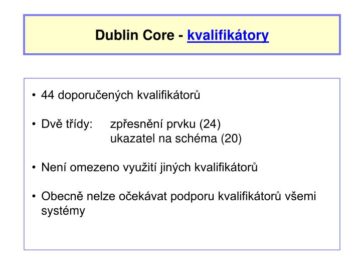 Dublin Core -