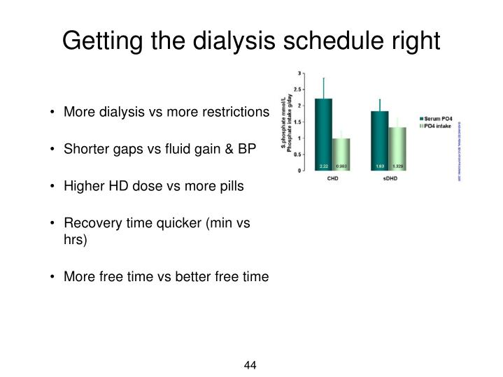 More dialysis vs more restrictions
