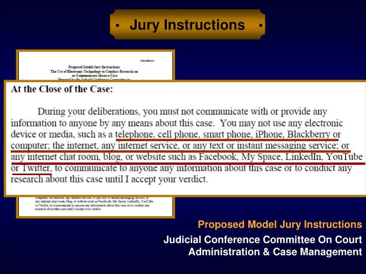 Jury Instructions