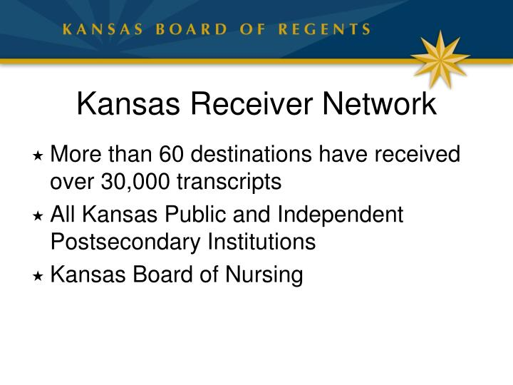 Kansas Receiver Network