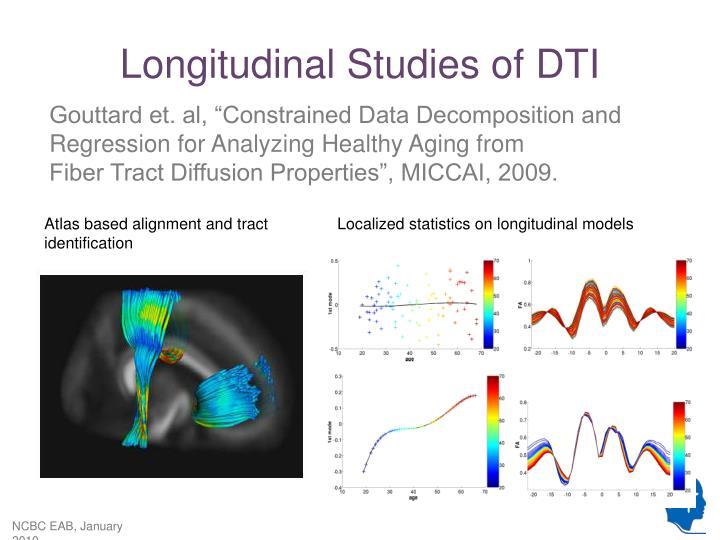 Longitudinal Studies of DTI