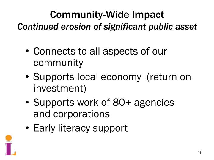 Community-Wide Impact