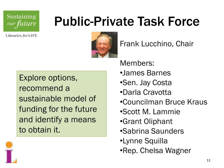 Public-Private Task Force