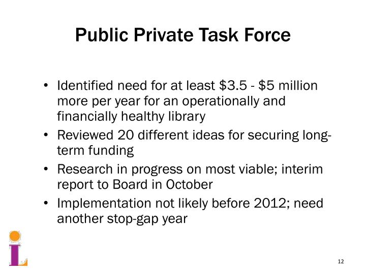 Public Private Task Force
