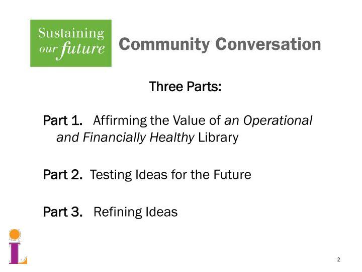 Three Parts: