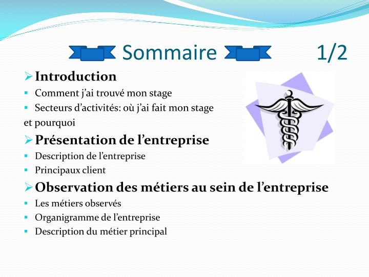 Sommaire                   1/2