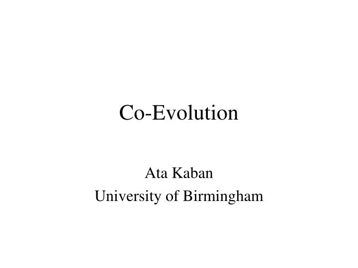 Ata kaban university of birmingham