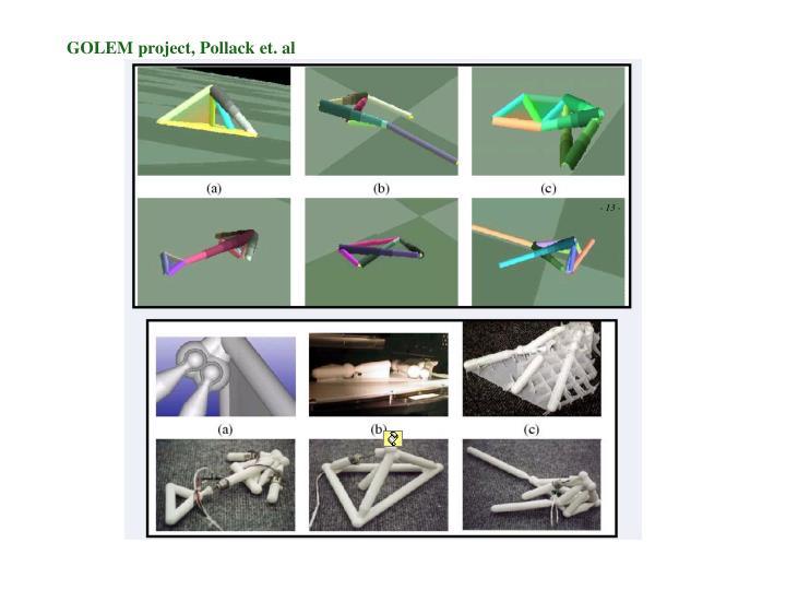 GOLEM project, Pollack et. al