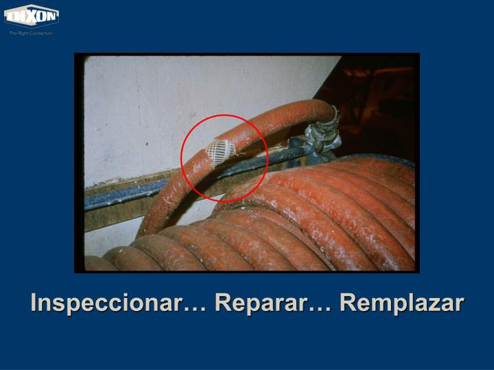 Inspeccionar… Reparar… Remplazar