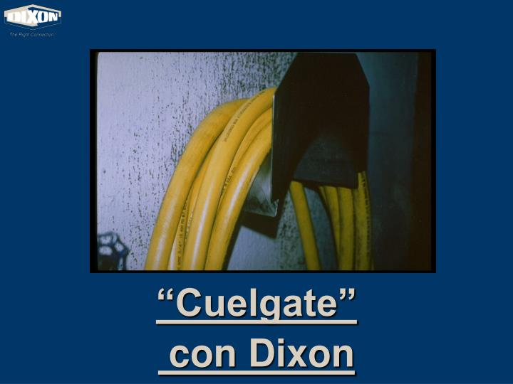 """Cuelgate"""