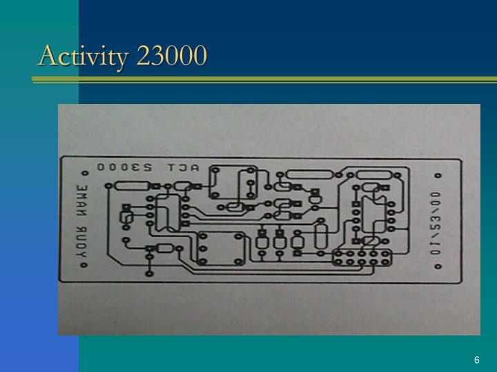 Activity 23000