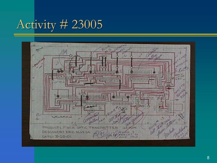 Activity # 23005