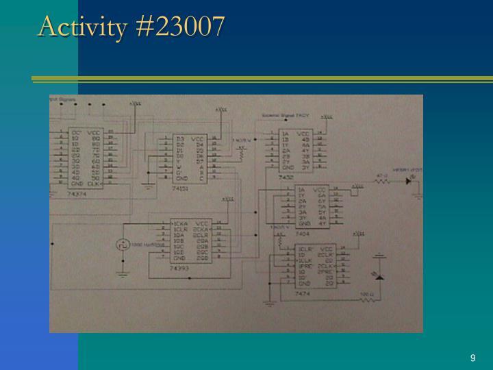Activity #23007