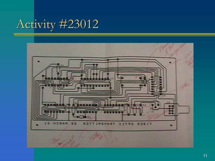 Activity #23012
