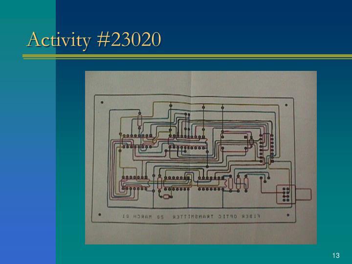Activity #23020