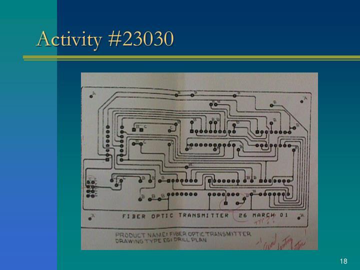 Activity #23030