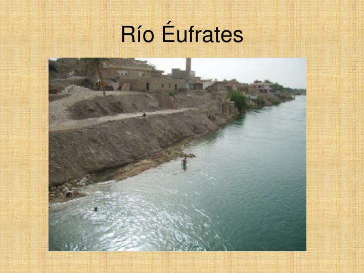 Río Éufrates
