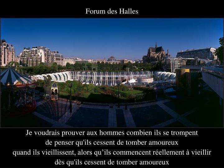 Forum des Halles
