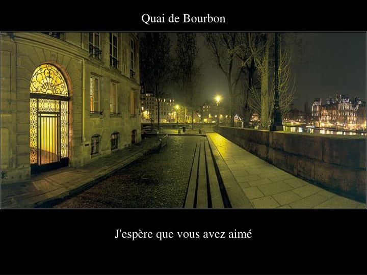 Quai de Bourbon