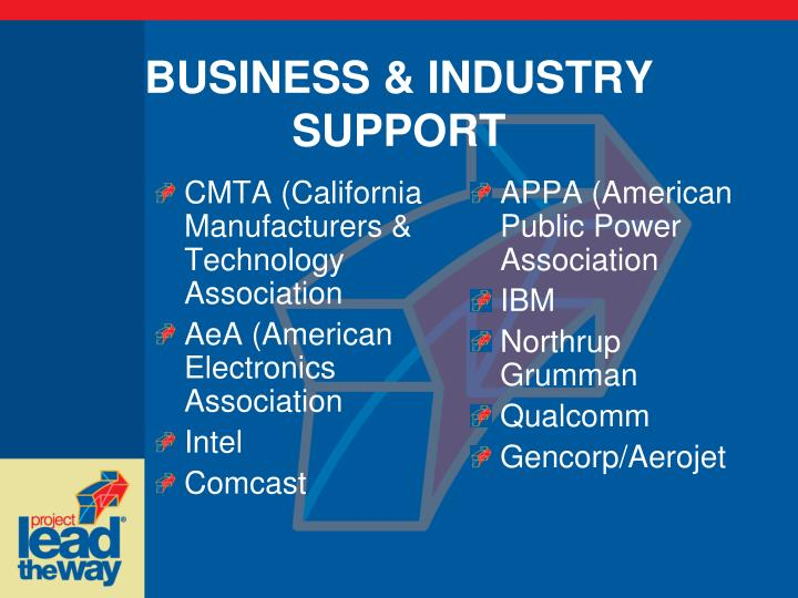 CMTA (California Manufacturers & Technology Association