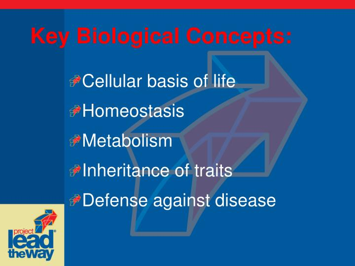 Key Biological Concepts: