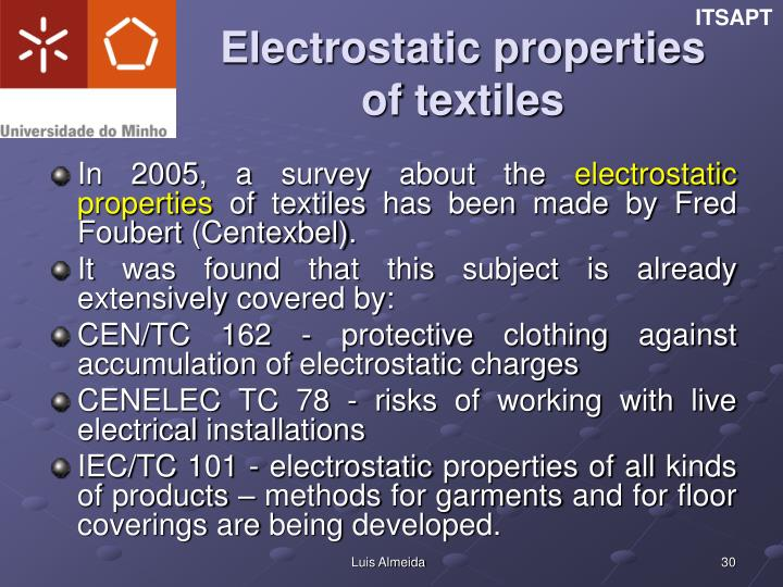 Electrostatic properties