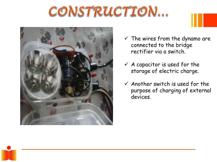 CONSTRUCTION…