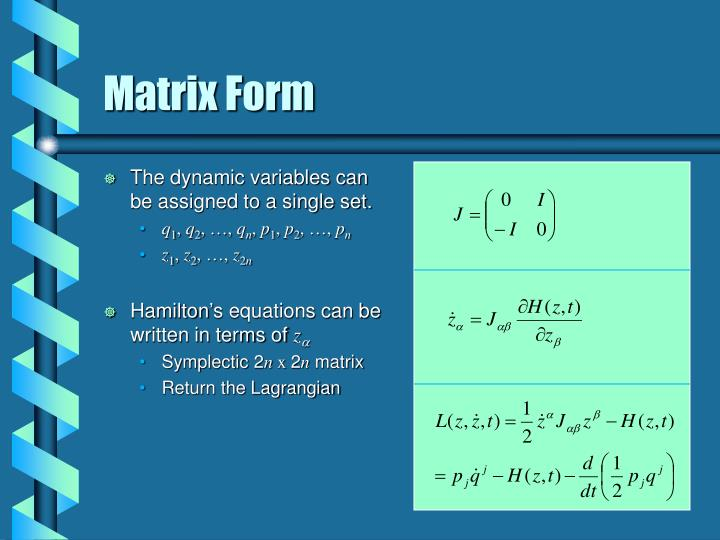 The dynamic variables can be assigned to a single set.