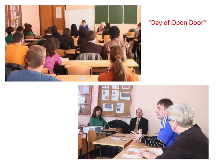 """""""Day of Open Door"""""""