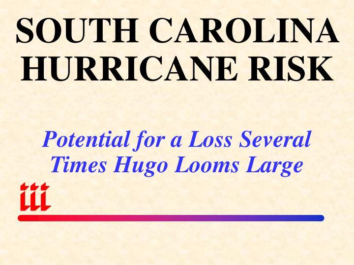 SOUTH CAROLINA HURRICANE RISK