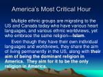 america s most critical hour