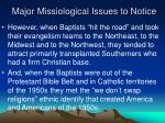 major missiological issues to notice2