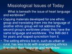 missiological issues of today6