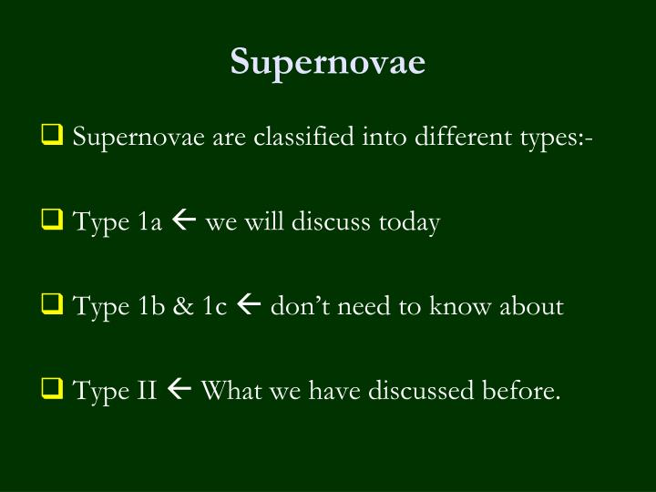 supernova type 1b - photo #36