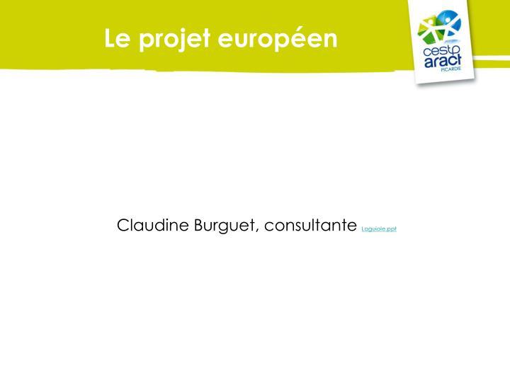 Le projet européen