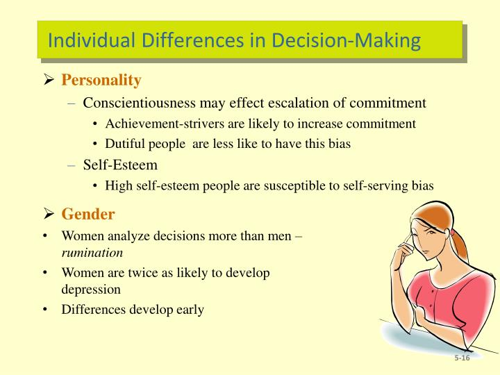Individual Differences in Decision-Making