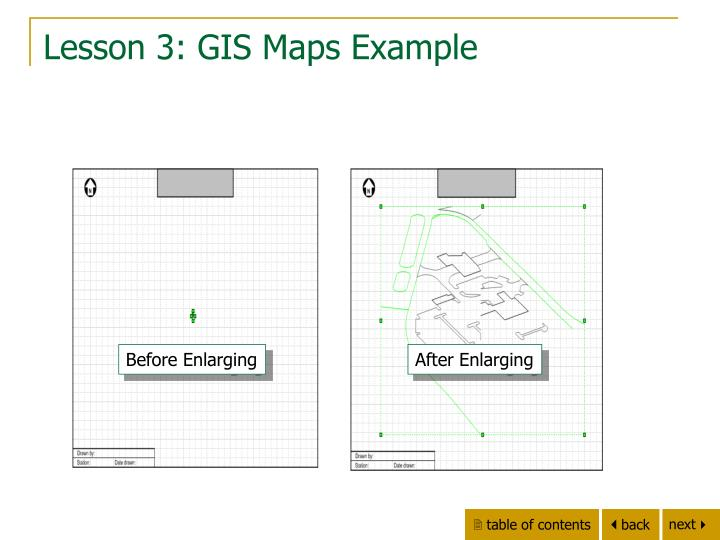 Lesson 3: GIS Maps Example